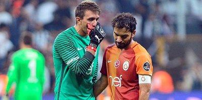 Muslera ve Selçuk, Beşiktaş maçı kaçırmadı