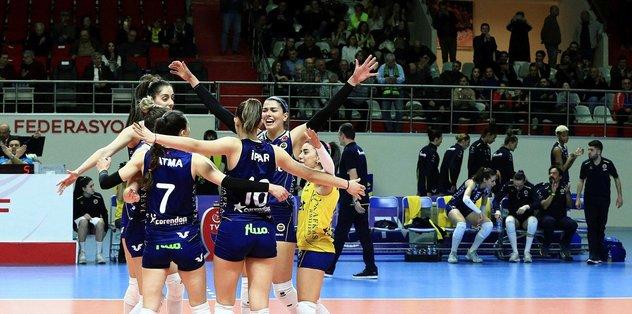 Fenerbahçe Opet 3-0 LP Salo   MAÇ SONUCU