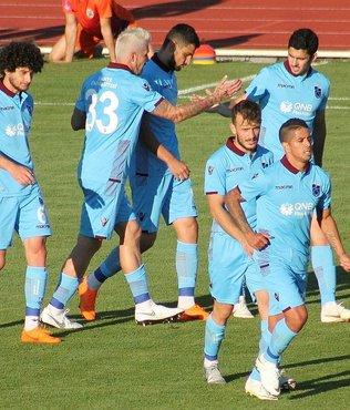 Trabzonspor hazırlık maçında Lokomotiva Zagreb karşısında kazandı