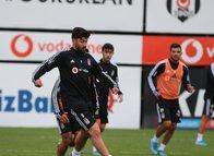 Beşiktaş Braga maçı hazırlıklarını sürdürdü