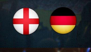 İngiltere - Almanya CANLI