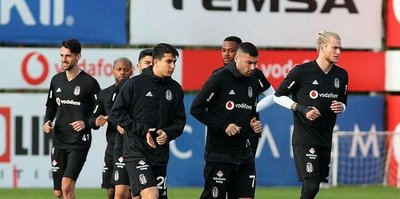 Beşiktaş MKE Ankaragücü'ne hazırlanıyor