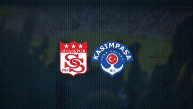 Sivasspor - Kasımpaşa maçı ne zaman, saat kaçta ve hangi kanalda canlı yayınlanacak? | Süper Lig