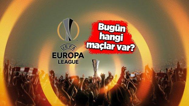 UEFA Avrupa Ligi'nde bugün (21 Ekim Perşembe) hangi maçlar var? Avrupa Ligi fikstürü...