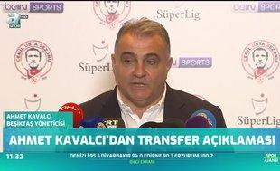 Ahmet Kavalcı'dan transfer açıklaması