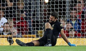 Alisson'dan Liverpool'a kötü haber