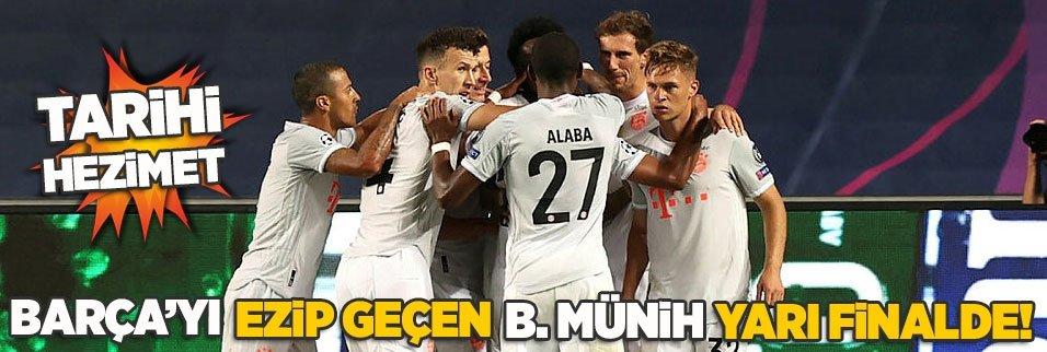 Tarihi hezimet! Barça'yı ezip geçen B. Münih yarı finalde
