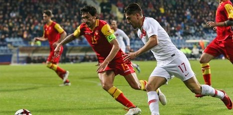 Turkey, Montenegro draw 2-2 in friendly