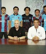 Trabzonspor, 6 oyuncuyla profesyonel sözleşme imzaladı