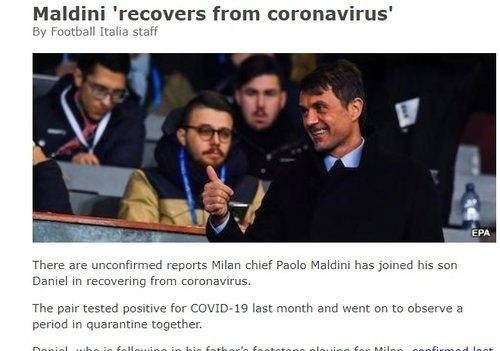 Paolo Maldini'den haber var! Corona virüsü test sonucu... - Futbol -