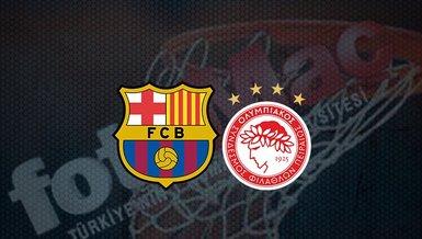 Barcelona - Olympiakos maçı ne zaman? Saat kaçta ve hangi kanalda canlı yayınlanacak? | THY Euroleague