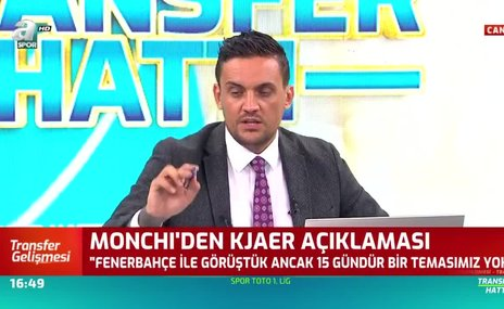 Monchi'den Fenerbahçe ve Kjaer açıklaması