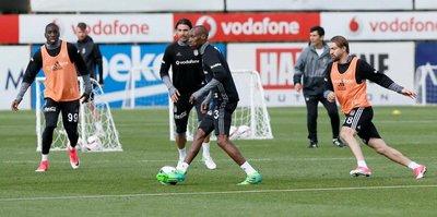 Beşiktaş'ta O.Lyon hazırlıkları sürüyor