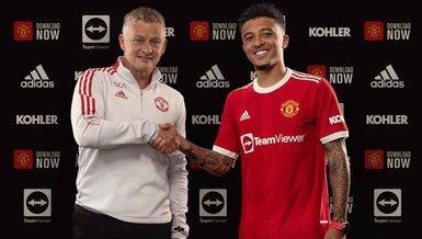 Manchester United Jadon Sancho'yu transfer etti