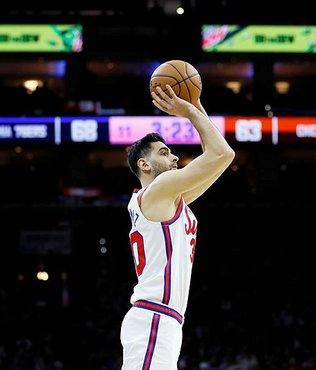 NBA'de Sixers'a galibiyeti kariyer rekoru kıran Furkan Korkmaz getirdi