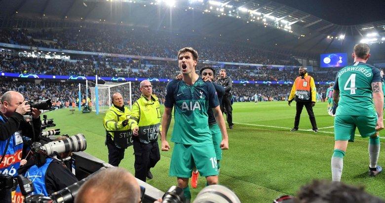Cüneyt Çakır'ın yönettiği tarihi maçta gülen taraf Tottenham!