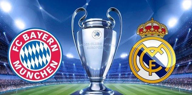 CANLI | Bayern Münih - Real Madrid
