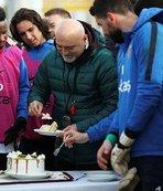 Kayserispor'da doğum günü kutlaması