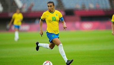 Son dakika spor haberi: Tokyo Olimpiyatları'nda Brezilyalı futbolcu Marta tarihe geçti!