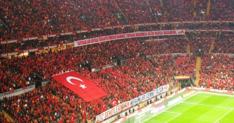 Türk Telekom Stadyumu'nda sessiz çığlık