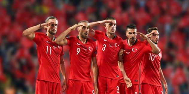 MAÇ SONUCU Türkiye 1-0 Arnavutluk MAÇ ÖZETİ