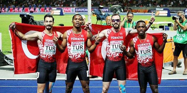 Avrupa Atletizm Şampiyonası'nda gümüş madalya