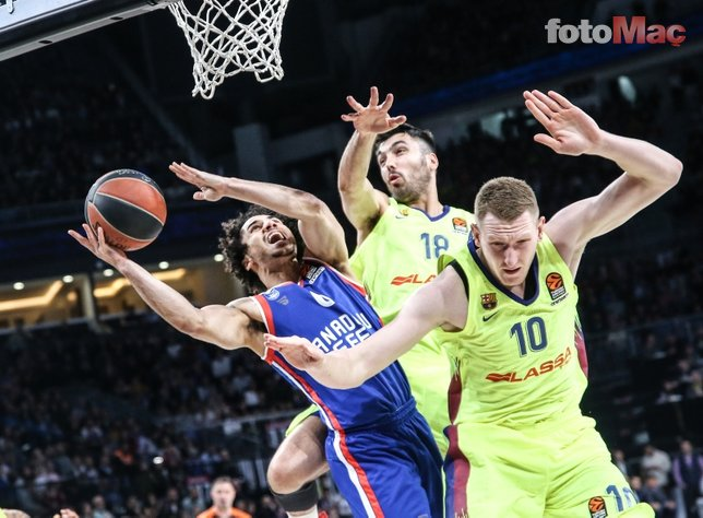 Anadolu Efes 72-74 Barcelona Lassa (Euroleague)
