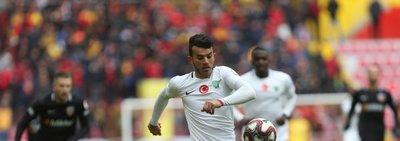 Kayserispor - Akhisarspor maçından kareler