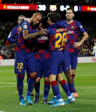 Barcelona liderliğini korudu