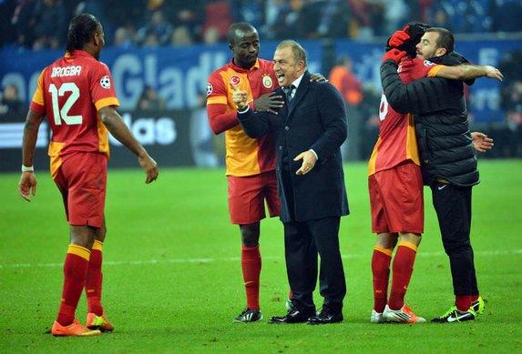 G.Saray, Real ve Barça'dan iyi