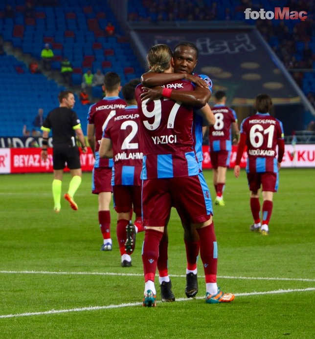Trabzonspor - Kayserispor maçından kareler