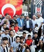 Beşiktaş Başkanı Fikret Orman Mersin'de