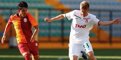 UEFA Gençlik Ligi'nde Galatasaray, Lokomotif Moskova'ya kaybetti!