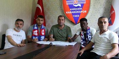 Kardemir Karabükspor'dan orta sahaya 2 takviye