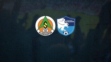 Alanyaspor-BB Erzurumspor maçı saat kaçta ve hangi kanalda?