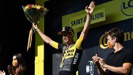 Son dakika spor haberi: 108. Fransa Bisiklet Turu'nun 20. etabını Wout van Aert kazandı.
