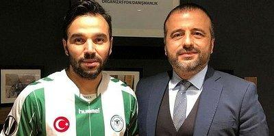 Volkan Şen Konyaspor formasını giydi
