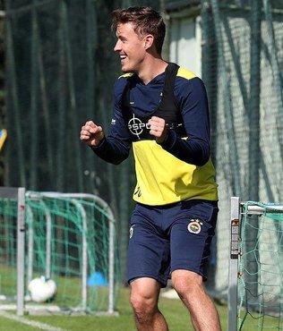 Fenerbahçe'de Max Kruse çalışmalara başladı