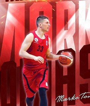 Marko Tomas yeniden Gaziantep Basketbol'da