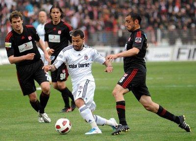 Sivasspor - Beşiktaş (Spor Toto Süper Lig 27. hafta maçı)