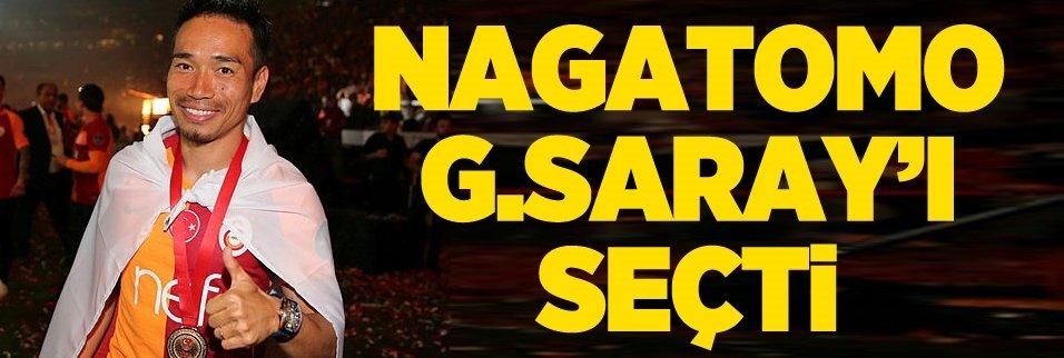 Nagatomo Galatasaray'ı seçti