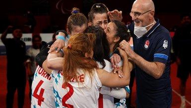 Son dakika spor haberi: Tokyo 2020 Golbol Kadın Milli Takım'ımız altın madalya kazandı!