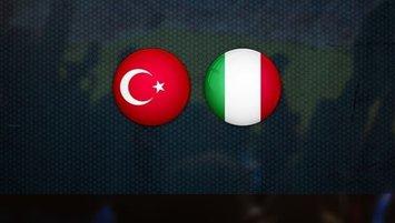 Türkiye İtalya | CANLI