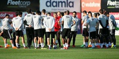 Beşiktaş'ta derbi hazırlıkları devam ediyor