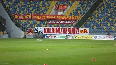 Son dakika spor haberleri: Galatasaray taraftarı vefat eden Ankaragücü taraftarları Eren ve Mert'i unutmadı