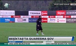 Beşiktaş'ta Quaresma şov!