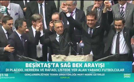 Beşiktaş'ta sağ bek arayışları sürüyor!