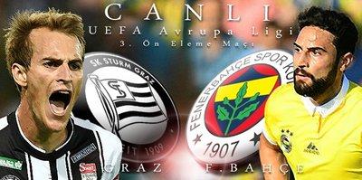 Sturm Graz - Fenerbahçe | CANLI