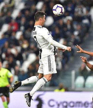 Şampiyon Juventus 1 puanı Ronaldo'yla aldı