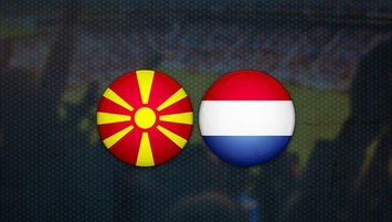 Kuzey Makedonya-Hollanda   CANLI